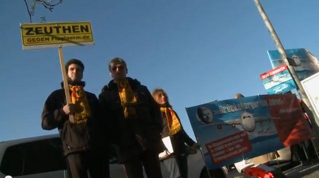 Tag des Zorns: Film über die Pressekonferenzen am 26.01.2012 zur Flugroutenbekanntgabe von BER und die Spontandemo in Berlin-Friedrichshagen