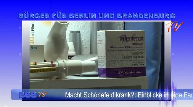 Unsere Themen diesmal: Macht Schönefeld krank? Einblicke in eine Familie Feinstaub: Was bedeutet er für Berlin und Brandenburg? Flugrouten: Es geht auch anders!