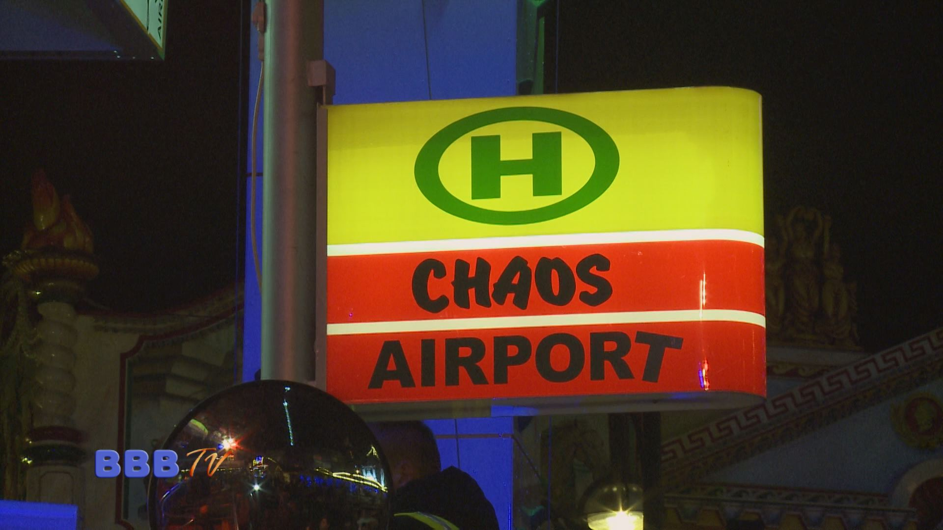 Chaos Airport-Original und Kopie, BBB TV 11.12.2014
