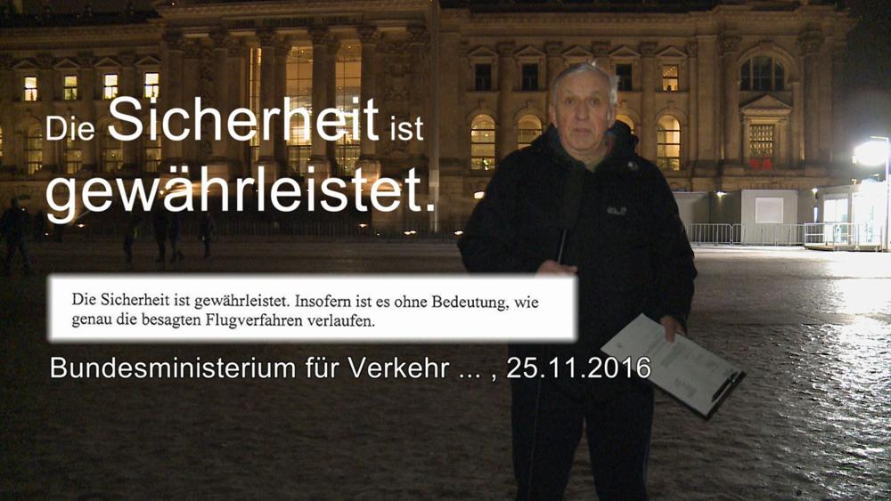 Themen: Die Sicherheit ist gewährleistet… …auch wenn die Jets über den Reichstag donnern. Gibt es 9 / 11 auch in Berlin? Das untersucht der erste Beitrag. BER ohne Flug – […]