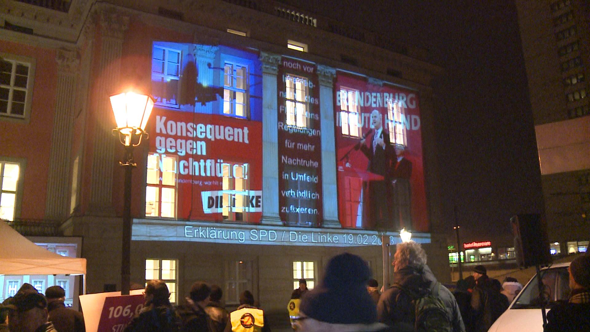 Bürger rocken Landtag