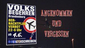 Nachtflugverbot angenommen und vergessen